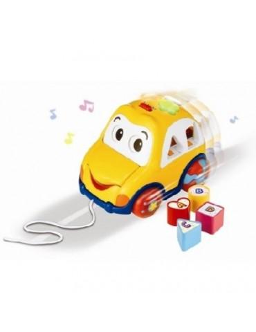 Auto z dźwiękiem i klockami Smily Play