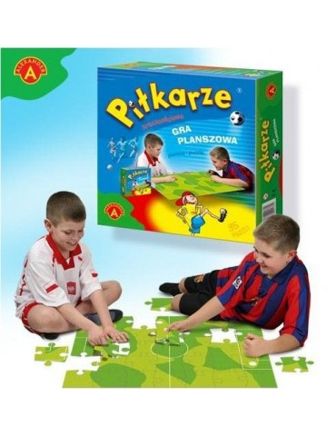 Piłkarze gra zręcznościowa Alexander