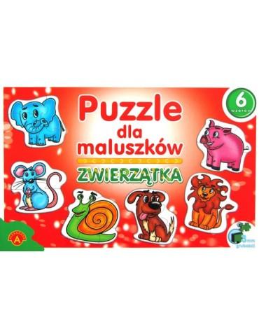 Zwierzątka, puzzle dla maluszków Alexander