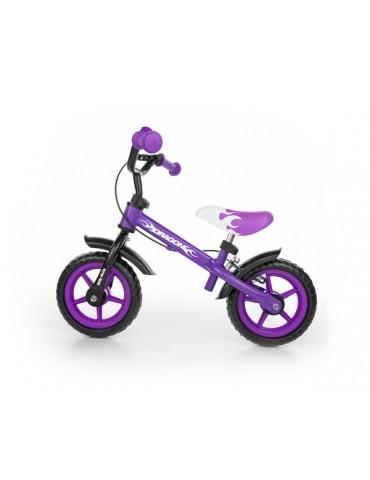 Rowerek biegowy Dragon z hamulcem Milly Mally Violet