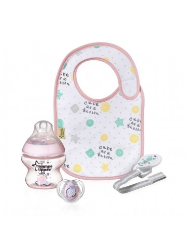 Zestaw Baby Gift Różowy tommee tippee