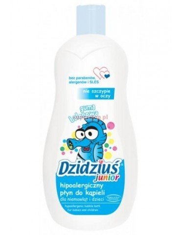Płyn do kąpieli o zapachu gumy balonowej 500 ml DZIDZIUŚ
