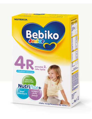 Mleko modyfikowane Bebiko 4R NutriFlor+ 800g po 2 roku