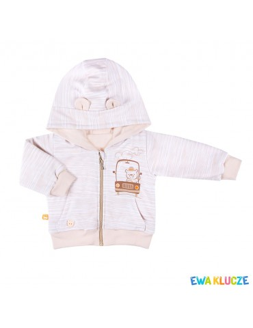 Bluza niemowlęca bawełniana chłopięca MELODY 68-86 Ewa Klucze