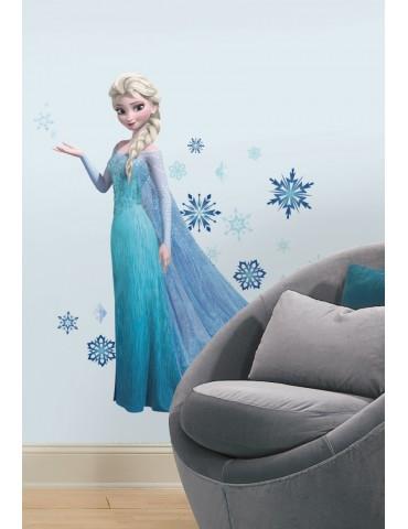 Naklejki Elsa z brokatem Roommates