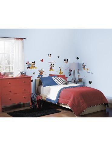 Naklejki Myszka Mickey i przyjaciele Roommates