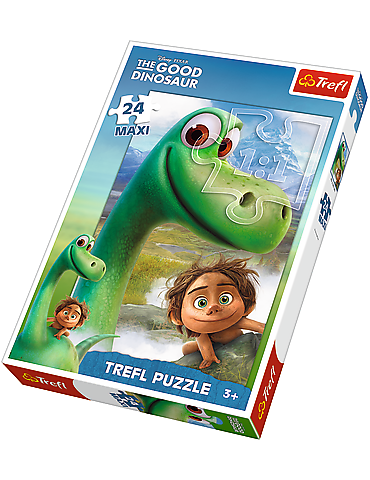 Arlo i Spot - Puzzle Maxi 24 The Good Dinosaur Trefl