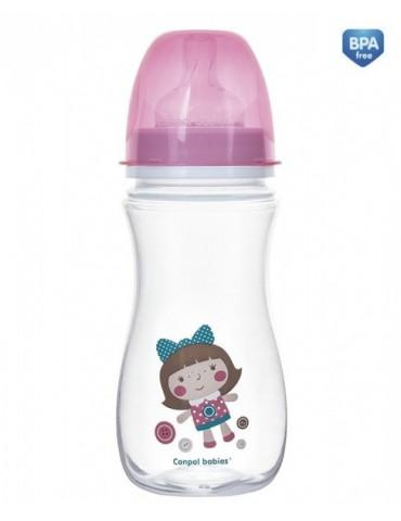 Butelka szerokootworowa antykolkowa EasyStart 300 ml TOYS Canpol babies