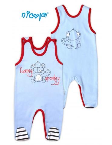 Śpioch niemowlęcy bawełniany MAŁPKA 56-80 Nicola 10505