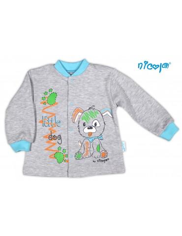 Kaftan niemowlęcy bawełniany PIESEK 56-80 Nicola 10801