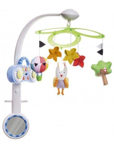 Karuzelka z MP3 Sowa 0m+ Taf toys