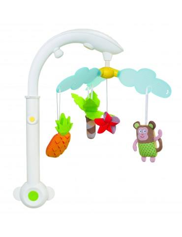 Karuzelka muzyczna Tropiki 0m+ Taf Toys