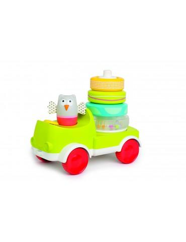 Wesoła ciężarówka Sowa 9m+Taf Toys