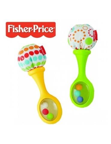 Kolorowe Grzechotki Marakasy Fisher Price