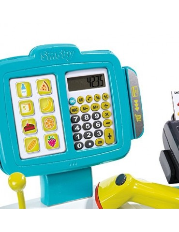 Elektroniczna kasa sklepowa z wagą i terminalem Smoby