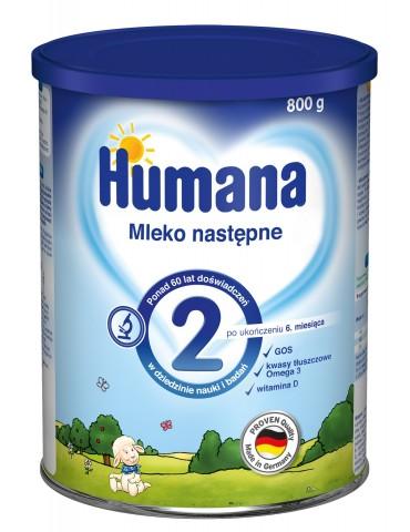Humana mleko modyfikowane 2 800g