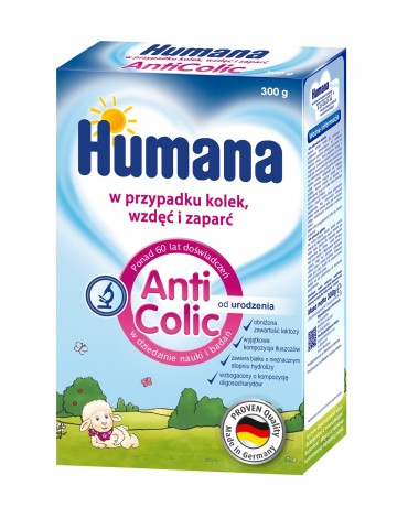 Humana mleko modyfikowane Anticolic 300g