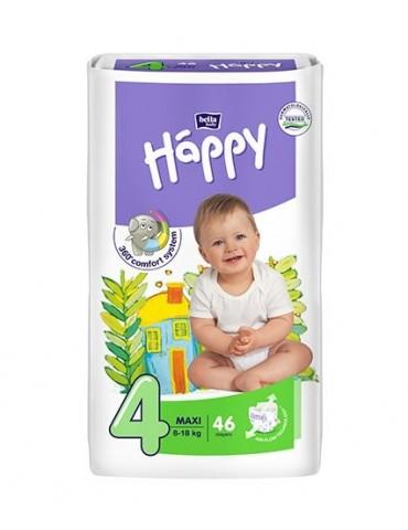 Pieluszki Bella Baby Happy 4 Maxi - 46 sztuk
