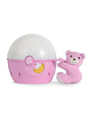 Chicco projektor na łóżeczko różowy