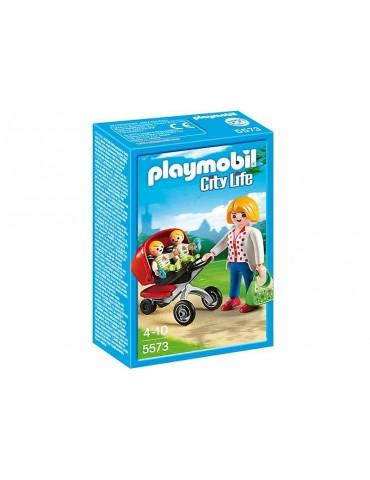 Wózek dla bliźniaków Playmobil