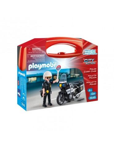 Skrzyneczka Policja Playmobil