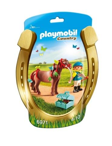 Łódź strażacka z armatką wodną Playmobil