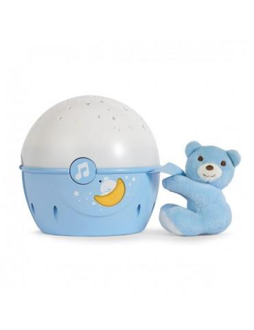 Chicco Projektor na łóżeczko Miś niebieski