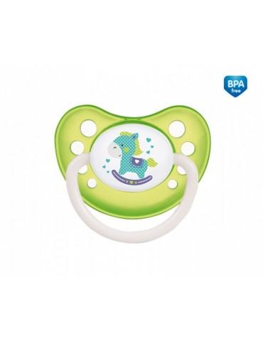 """Smoczek silikonowy anatomiczny 6-18 miesięcy """"Toys"""" Canpol Babies"""