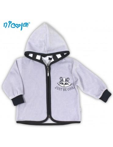 Bluza niemowlęca welurowa SZOP 56-68 Nicola