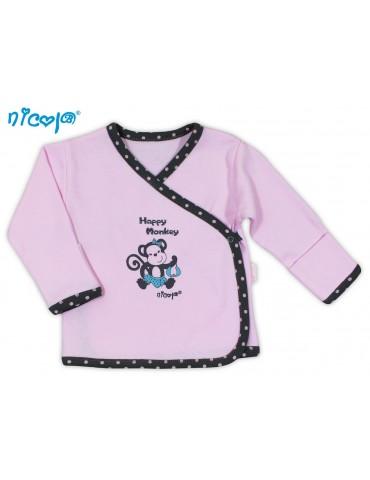 Koszulka niemowlęca bawełniana MAŁPKA 52-68 Nicola