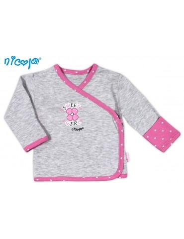 Koszulka niemowlęca bawełniana SERDUSZKA 48-62 Nicola