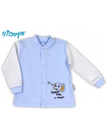 Kaftan niemowlęcy bawełniany SŁONIK 48-68 Nicola