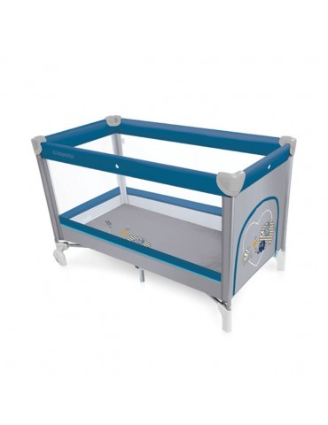 Łóżeczko turystyczne Simple Babydesign new blue