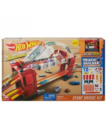Hot Wheels Track Builder Kaskaderski most Zestaw do konfiguracji