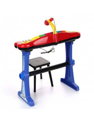 Simba kolorowy Keyboard stojący ze stolikiem