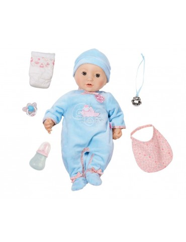 Baby Annabell bobas w zestawie chłopiec 43 cm