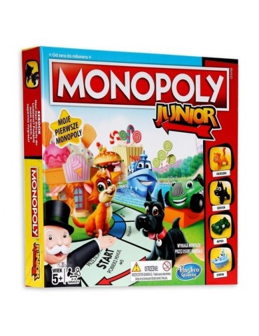 Hasbro Gra Monopol Junior