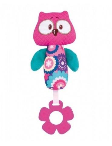 Canpol Pluszowa zabawka z piszczałką Forest Friends