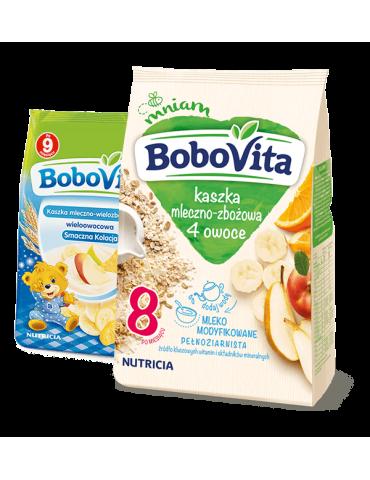 Kaszka mleczno-zbożowa 4 owoce 230g BoboVita