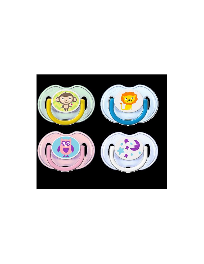Smoczek ortodontyczny Avent 0-6m 2szt