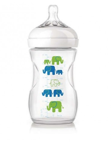 Butelka NATURAL Elephant boy 260 ml