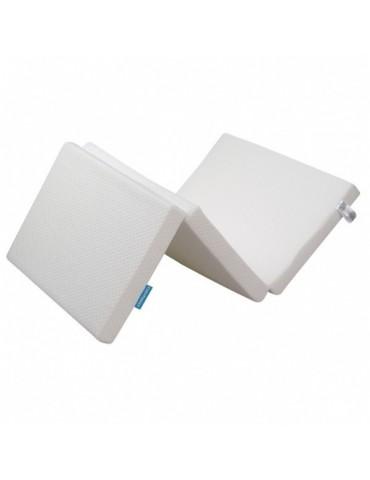 Fiki Miki Materac do ćwiczeń ruchowych biały 120x60 cm