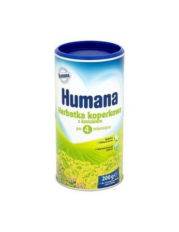 HUMANA Herbatka koperkowa z kminkiem po 4 miesiącu 200GR