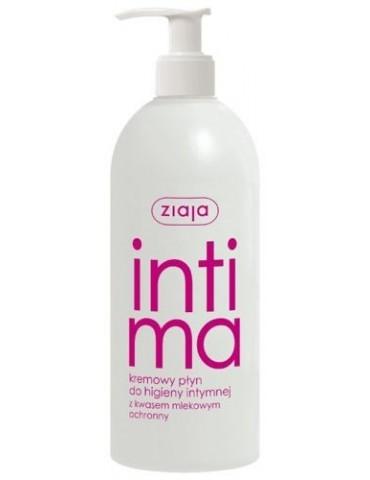 Intima Kremowy płyn do higieny intymnej z kwasem mlekowym 500ml Ziaja
