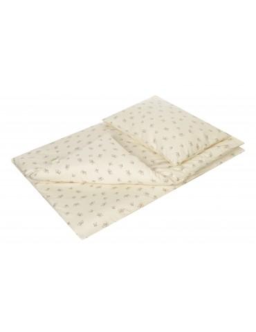 Pościel do łóżeczka z bawełny organicznej 135x100cm Dzidziuś Veto