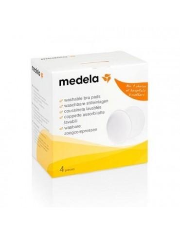 Wkładki laktacyjne do prania/wielorazowego użytku/ 4szt Medela
