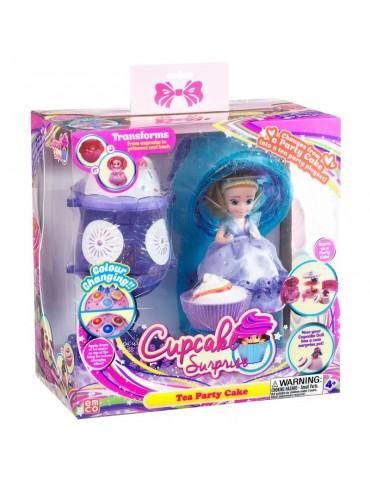 TM Toys Cupcake Surprise Zestaw deser lodowy salon piękności 2w1 Fioletowy