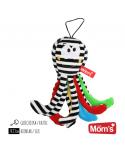Hencz Toys Mini Ośmiornica Biało-Czarna