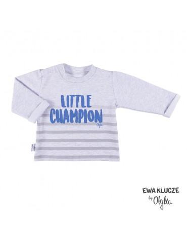 Bluzka niemowlęca bawełniana chłopięca LITTLE CHAMPION by Otylia 68-104 Ewa Klucze