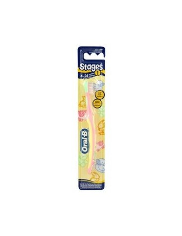 Oral-B Stages 1 szczoteczka do zębów dla dzieci do 2 lat.